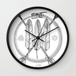 Ouroboros Logos Wall Clock