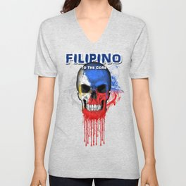 To The Core Collection: Philippines Unisex V-Neck
