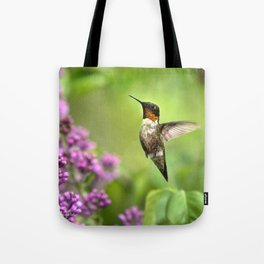 Hummingbirds Welcome Tote Bag