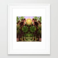 prism Framed Art Prints featuring prism  by BOBBY WILKINS