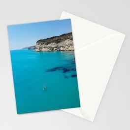 Kourion beach Stationery Cards