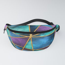 Space Abstract Geometric Fanny Pack