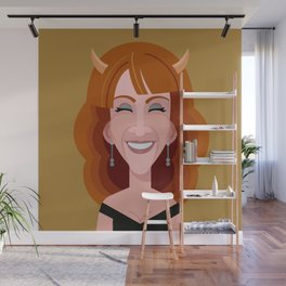 Comics of Comedy: Kathy Griffin Wall Mural