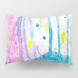 Enchanted Forest Watercolor Pillow Sham