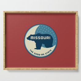 Missouri - Redesigning The States Series Serving Tray
