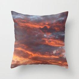 The Sun Will Set Throw Pillow
