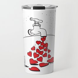 Grifo de Corazones Travel Mug