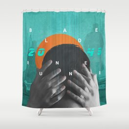 Blade Runner 2049 Sync Shower Curtain