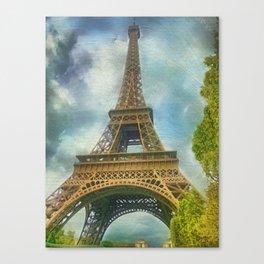 Eiffel Tower - La Tour Eiffel Canvas Print