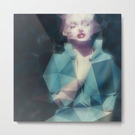 Norma J. Metal Print