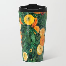 Marigolds by Koloman Moser, 1909 Travel Mug