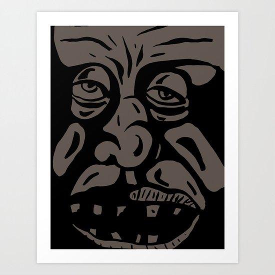 Intelligence Art Print