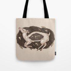 Predaceous Herbivore, Ghost Deer Tote Bag