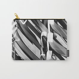 Light Dance Dark Stripes Carry-All Pouch
