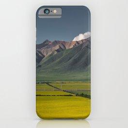 Qilian Mountain, Sunan Yugur Autonomous County, Zhangye, China iPhone Case