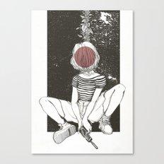Kill Girl Canvas Print
