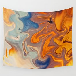 SKY ON FIRE Wall Tapestry