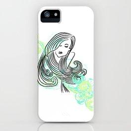 I dream of the sea iPhone Case