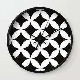 Shippo (cloisonne)Geometric Pattern Wall Clock