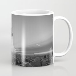 Black and White Berlin Coffee Mug