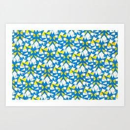 Ara ararauna Art Print