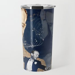 Fred Astaire Collage Portrait 4 Travel Mug