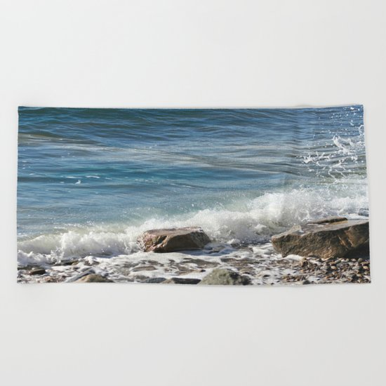 Splash Beach Towel