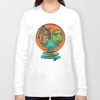 school Long Sleeve T-shirts featuring school by blablasah