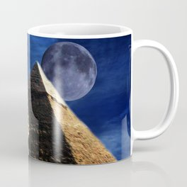 King Tut and Pyramid Coffee Mug