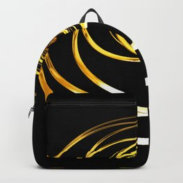 Gold Rings Backpack