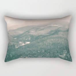 West Virginia Mountains Rectangular Pillow