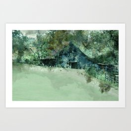 Barn Plethora Art Print