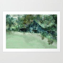 Barn Plethora Art Print