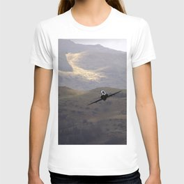 Flying over fields of gold T-shirt