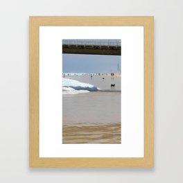 Sun Sand Surf Framed Art Print
