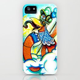 the Great DJ in the sky iPhone Case