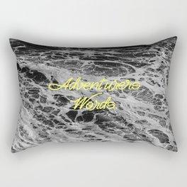 Adventurers Words. Rectangular Pillow