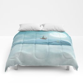 Whale Rider Comforters