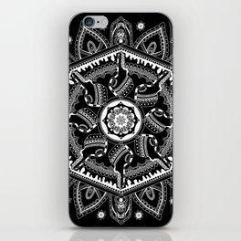 Unlocked (Black) iPhone Skin
