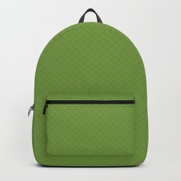 Color of the Year 2017 Designer Greenery Puffy Stitched Quilt Backpack