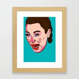Kimmy K Framed Art Print