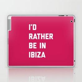 Be In Ibiza Music Quote Laptop & iPad Skin