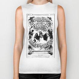 Varney the Vampire Biker Tank