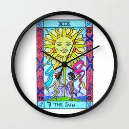 The Sun - Tarot Wall Clock