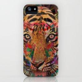 Seeing Eye Tiger iPhone Case