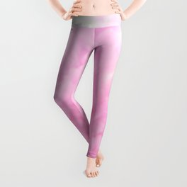 Pastel pink smoke Leggings