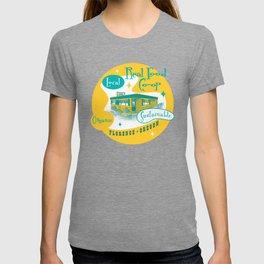 Real Food Co-op - Florence Oregon T-shirt