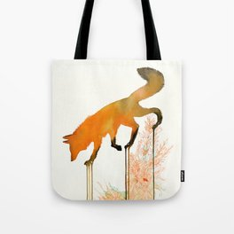 red_fox Tote Bag