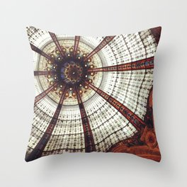 Parisian ceiling Throw Pillow