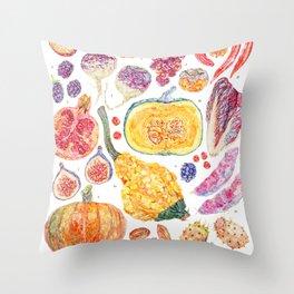 Autumn Havest Throw Pillow